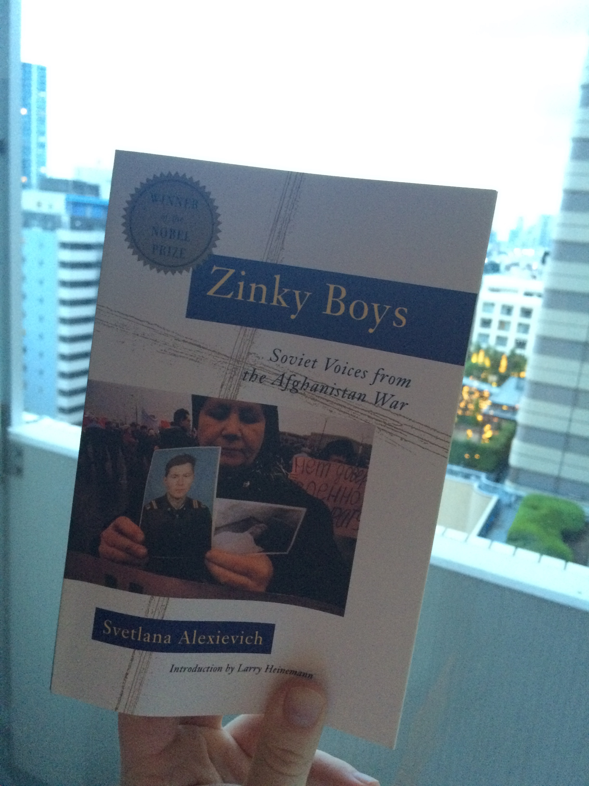zinky boys by svetlana alexievich essay Zinky boys by svetlana alexievich, 9780393336863, available at book depository with free delivery worldwide.