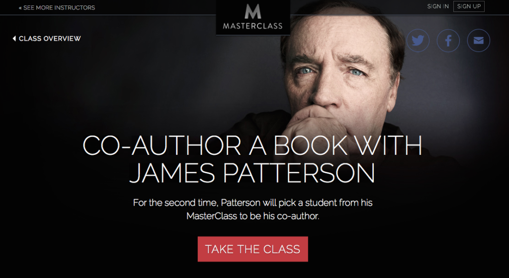 james-patterson-masterclass-review