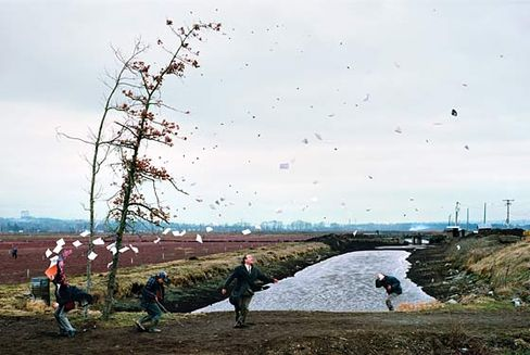 jeff wall sudden gust of wind