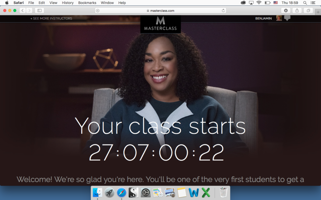 shonda rhimes writing for television masterclass review