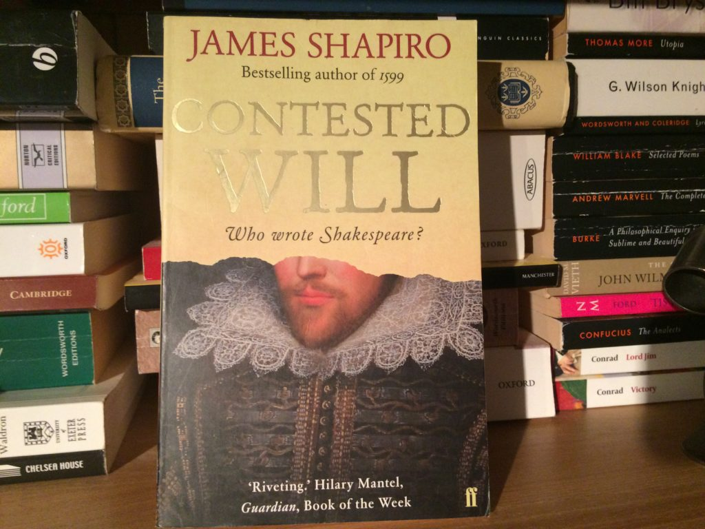 contested will shakespeare review