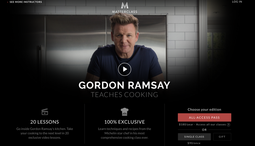 gordon ramsay masterclass cooking review