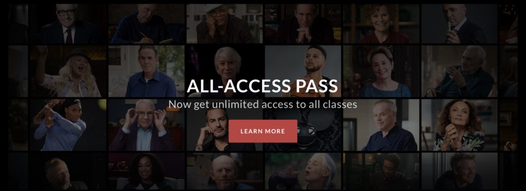 masterclass all access pass review