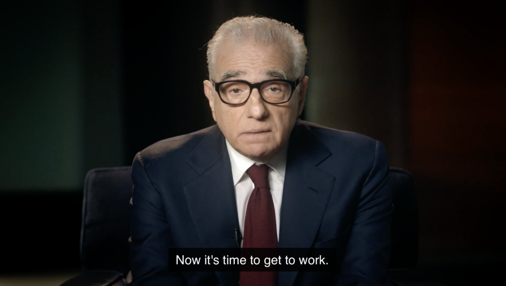 martin scorsese teaches filmmaking masterclass review