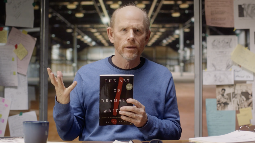 ron howard teaches directing masterclass review