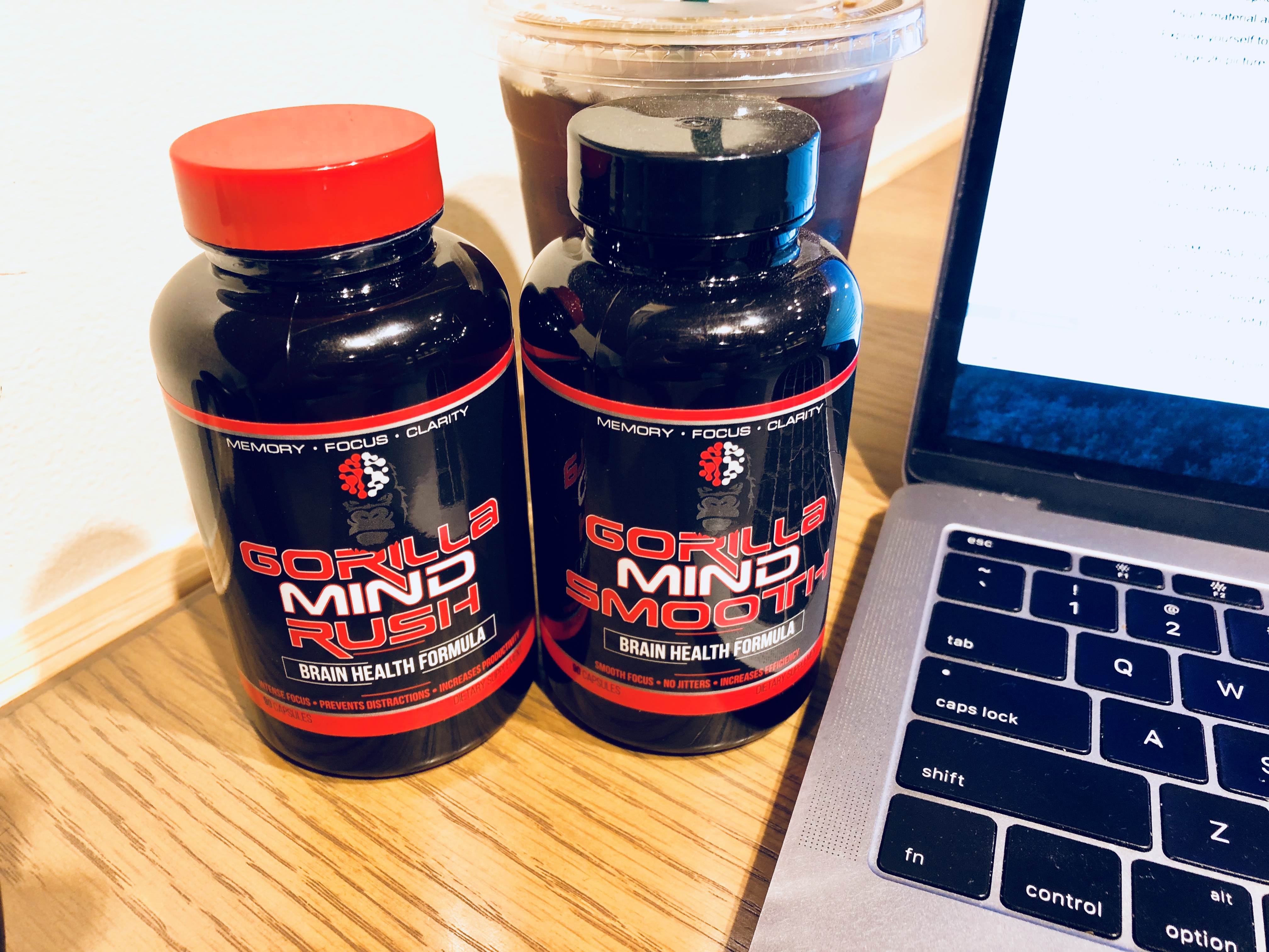 Gorilla Mind Rush and Smooth Nootropic Supplement Review