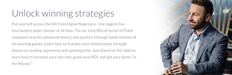 Daniel Negreanu Teaches Poker MasterClass Review - Benjamin McEvoy