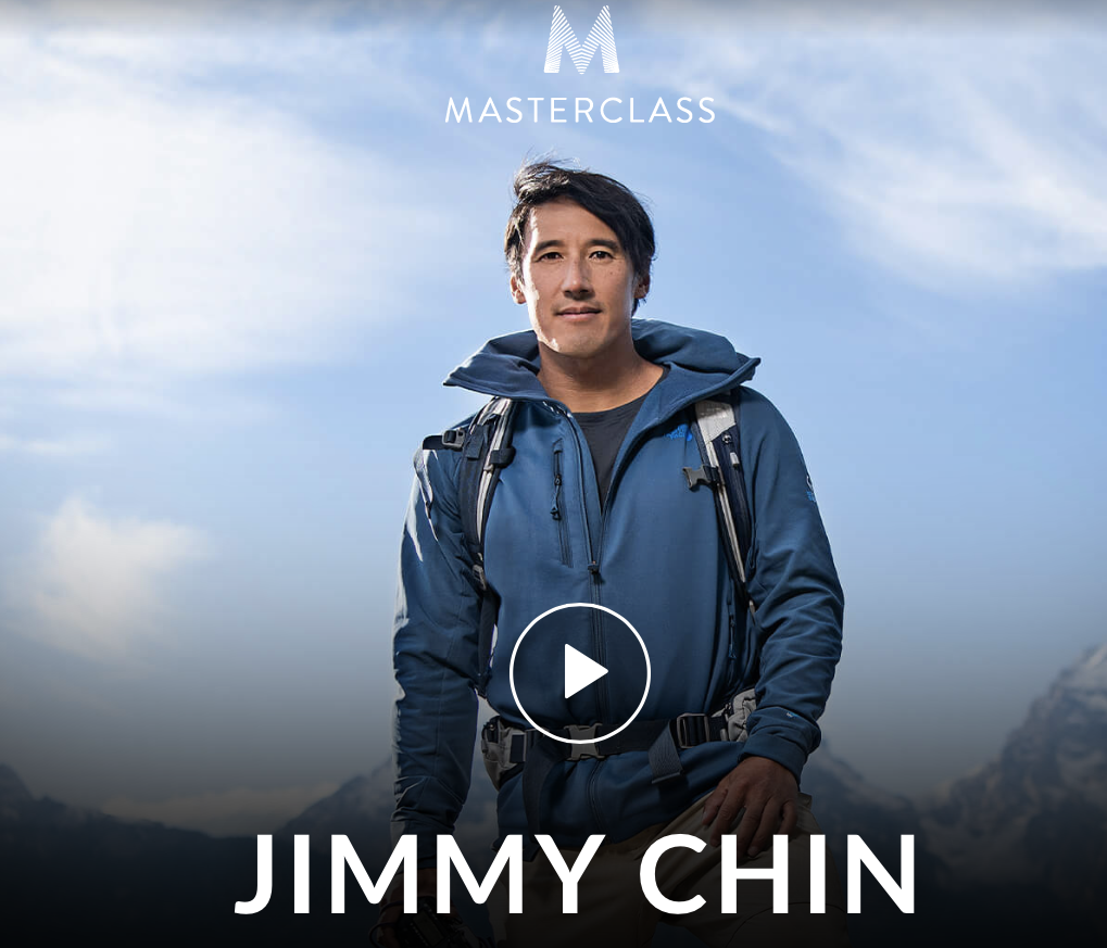 Jimmy Chin Teaches Adventure Photography MasterClass
